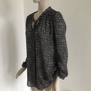 Max Studio V Neck Tunic
